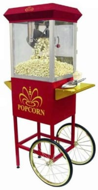 DIY Popcorn Machine Rental - 50 Guests