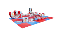 10ft x 8ft 20 Piece Super Hero Themed Soft Play Shape Set and Rocker#CAN YOU COMPLETE THE SOFT PLAY CHALLENGE?