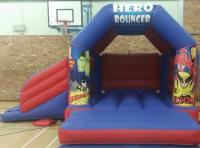 Hero Bouncer, Children's Bounce and Slide Castle