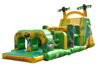 14 x 48ft Jungle Obstacle Course #Adult Use +£20