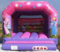 12ft x 12ft Princess A Frame Bouncy Castle