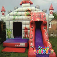 12ft x 20ft Knights & Dragon Bouncy Castle