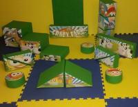 Crazy Farm, 17 Piece Soft play Set