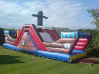 Deluxe Pirate Ship Assault Course