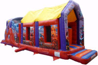 Action Hero's Assault Course 36ft x 8ft