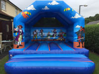 12 x 12 Pirate bouncy castle