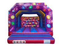 13ft x 13ft Childrens Celebration Themed Bouncy Castle#CELEBRATE YOUR EVENT IN STYLE!
