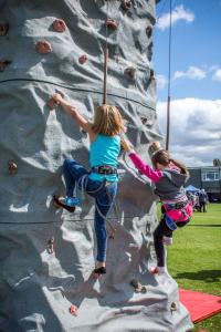 Mobile Climbing Wall # Comes with Our Staff