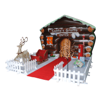 Santa's Grotto Inflatable # 15 x 25ft