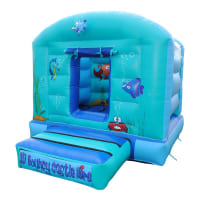 9 x 11ft 'Sea Life' Bouncy Castle