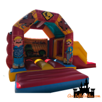 Construction Themed Bounce & Slide 18ft x 15ft