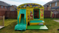 13ft*18ft Jungle Bouncy Castle with Slide