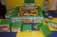 Crazy Farm Soft Play Set and Ball Pool