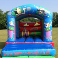 12ft x 14ft Circus Bouncy Castle