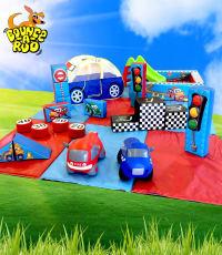 Racing Car Soft Play