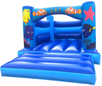 Finding Fishes Bouncy Castle (11ft x 15ft)