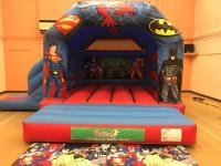 Superheroes Bounce and Slide