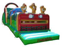 14 x 56ft Farmyard Obstacle Course #Adult Use +£20