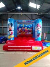 Mickey Mouse Club House Bouncy Castle