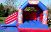 Spider Man, Children's Bounce and Slide Castle