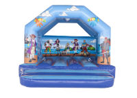 13ft X 13ft Childrens Pirate Themed Bouncy Castle