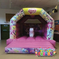 12ft x 15ft 3D My Little Pony Themed Bouncy Castle