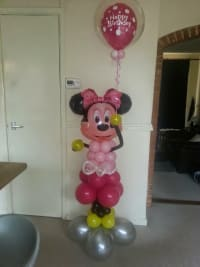 Minnie Mouse balloon character