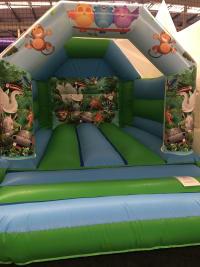 Brand New! Jungle Fun Bouncy Castle