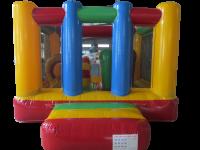 10ft x 13ft Childrens Multi Coloured Bouncy Castle#