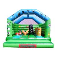 18 x 18ft Farmyard Activity Bouncy Castle