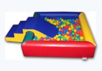 Bronze Soft Play Package - Ball pool with slide