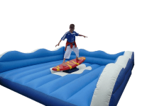 12ft x 12ft Adult/Older Children Surf Simulator Hire inc Staff