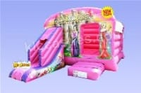 13ft*18ft Princess Bouncy Castle with Slide