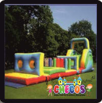 50ft x 10ft Inflatable Obstacle / Assualt Course