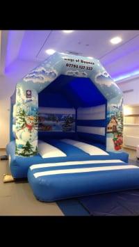 Magical Christmas theme castle 15 x 12