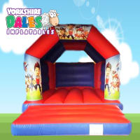 Paw Patrol Bouncy Castle - Red & Blue#<ul><li>11ft x 15ft</li><li>Just £55 on Week Days</li><li>Children Only</li></ul>