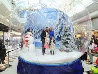 Giant Snow Globe