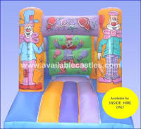 9ft x11ft Clown Bouncy Castle