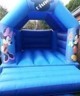 Mickey And Minnie Mouse Bouncy Castle (Medium)