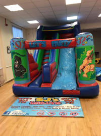Inflatable Jungle Slide 6ft Platform