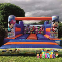 12ft x 15ft Low Height Mickey Mouse Clubhouse Bouncy Castle
