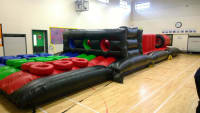 7 Part 'It's a Knock Out' obstacle course