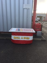 Roll a coin fun fair game