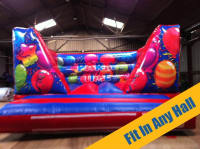 Party Time Low Wall Indoor Bouncy Castle