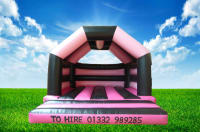 New Adult/Kids Hot Pink Bouncy Castle