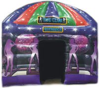 1 Day Inflatable Nightclub Hire