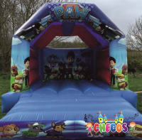 12ft x 15ft Paw Patrol Themed Bouncy Castle