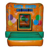 9 x 11ft 'Let's Party' Bouncy Castle