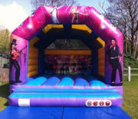 Rock Star Adult Bouncy Castle