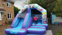 14ftx14ft Party Bounce n Slide Bouncy Castle